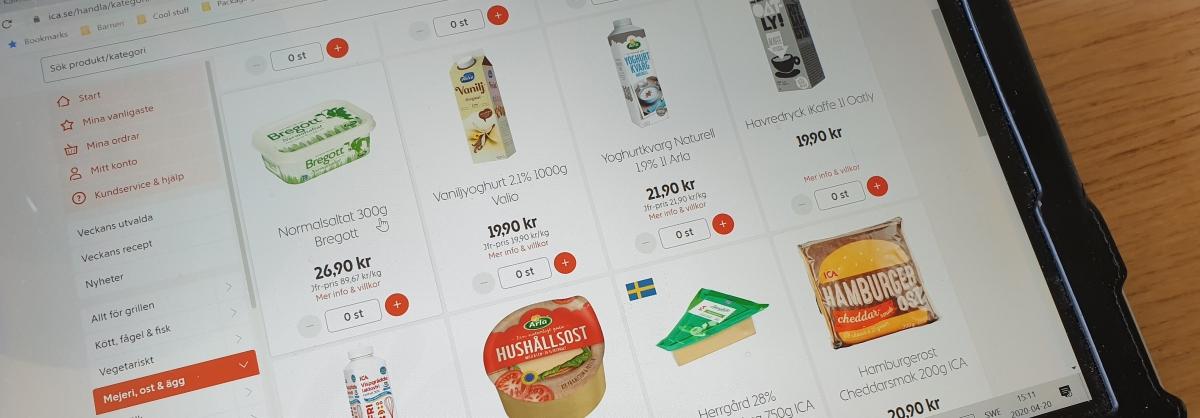 Viruskris och livsmedelsförpackningar